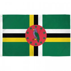 Dominica 3' x 5' Country Polyester Flag