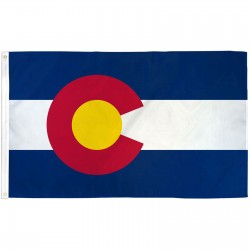 Colorado State 2' x 3' Polyester Flag