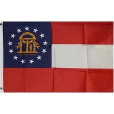 Georgia 2'x3' State Flag