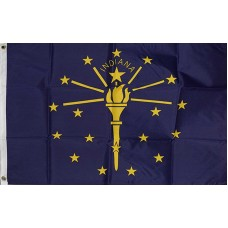 Indiana 2'x3' State Flag