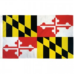 Maryland 2'x3' State Flag