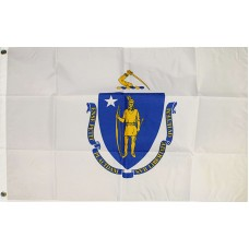 Massachusetts State 2' x 3' Polyester Flag
