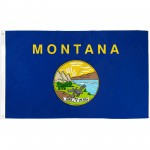 Montana State 2' x 3' Polyester Flag
