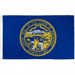 Nebraska State 2' x 3' Polyester Flag