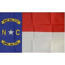 North Carolina 2'x3' State Flag