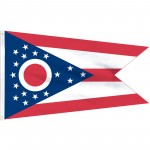Ohio State 2' x 3' Polyester Flag