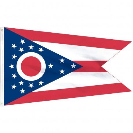 Ohio State 2' x 3' Polyester Flag