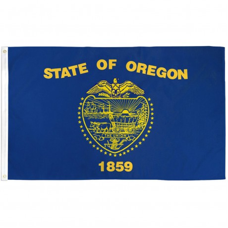 Oregon 2'x3' State Flag