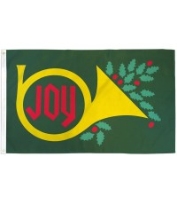 Joy Christmas 3' x 5' Polyester Flag