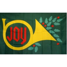 Christmas Joy 3'x 5' Holiday Flag