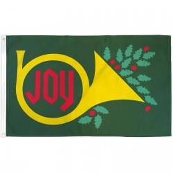 Joy Christmas 3' x 5' Polyester Flag