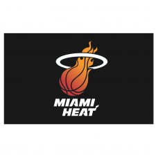 Miami Heat Black 3'x 5' Flag