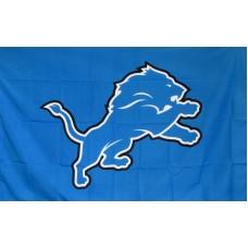 Detroit Lions Mascot 3'x 5' Flag  Flag
