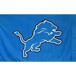 Detroit Lions Mascot 3' x 5' Polyester Flag