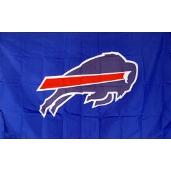 Buffalo Bills Mascot 3' x 5' Polyester Flag