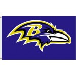 Baltimore Ravens Mascot 3' x 5' Polyester Flag