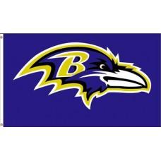 Baltimore Ravens Mascot 3'x 5' Flag  Flag