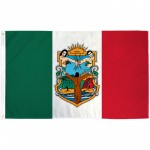 Baja California Mexico State 3' x 5' Polyester Flag