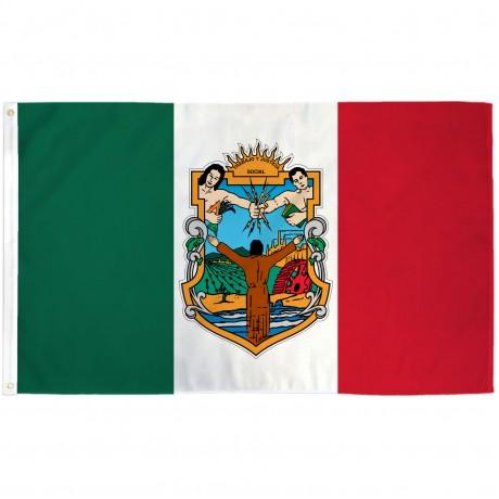 Baja California Mexico State 3' x 5' Polyester Flag