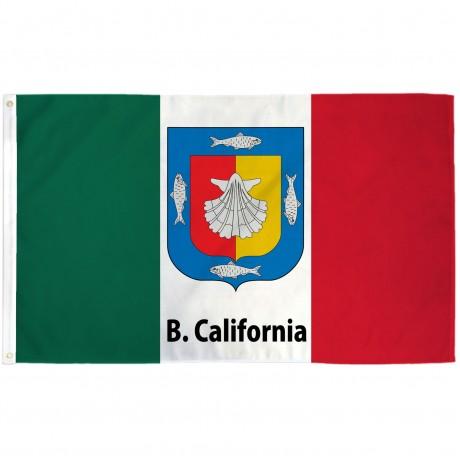 Baja California Sur Mexico State 3' x 5' Polyester Flag