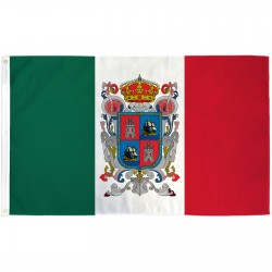 Campeche Mexico State 3' x 5' Polyester Flag