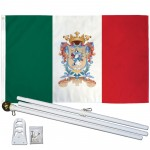 Guanajuato Mexico State 3' x 5' Polyester Flag, Pole and Mount