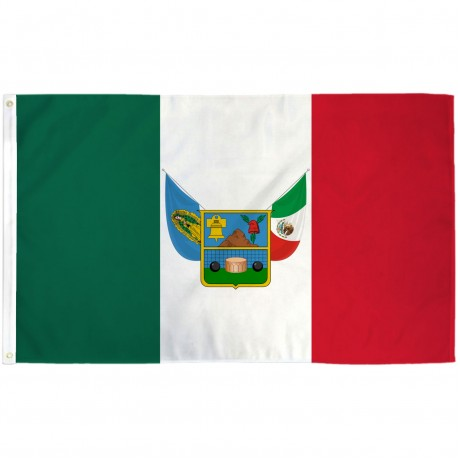 Hidalgo Mexico State 3' x 5' Polyester Flag