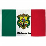 Michoacán Mexico State 3' x 5' Polyester Flag