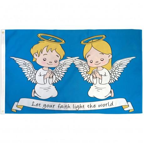 Let Your Faith 3' x 5' Polyester Flag