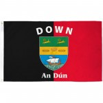 Down Ireland County 3' x 5' Polyester Flag