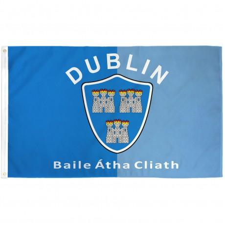 Dublin Ireland County 3' x 5' Polyester Flag
