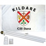 Kildare Ireland County 3' x 5' Polyester Flag, Pole and Mount