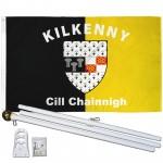 Kilkenny Ireland County 3' x 5' Polyester Flag, Pole and Mount