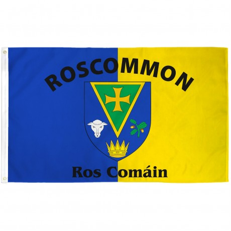 Roscommon Ireland County 3' x 5' Polyester Flag