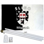 Sligo Ireland County 3' x 5' Polyester Flag, Pole and Mount