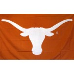 Texas Longhorns Logo 3'x 5' College Flag