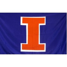 Illinois Fighting Illini 3'x 5' College Flag