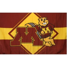 Minnesota Golden Gophers 3'x 5' College Flag