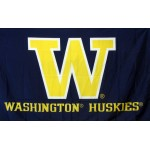 Washington Huskies Blue 3'x 5' College Flag