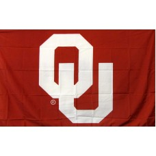 Oklahoma Sooners Logo 3'x 5' College Flag