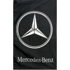 Mercedes-Benz Vertical 3'x 5' Flag