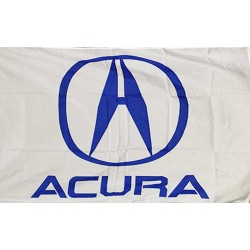 Acura Logo Car Lot Flag