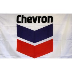 Cheveron Logo Car Lot Flag