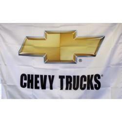 Chevy Trucks Logo Car Lot Flag