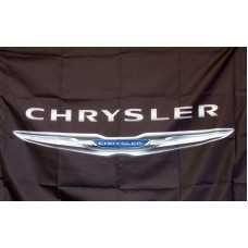 Chrysler Logo Car Lot Flag