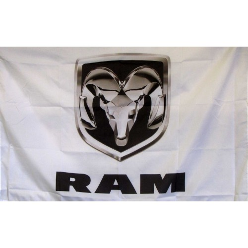 Dodge Ram Logo Car Lot Flag F 1844 By Www