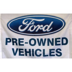 Ford Pre-Owned Vehicles Car Lot Flag