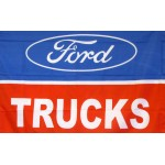 Ford Trucks Logo Car Lot Flag