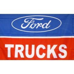Ford Trucks Logo Car Lot Flag