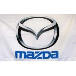 Mazda Logo Car Lot Flag